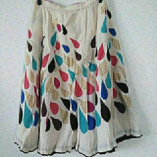 ツモリチサト(TSUMORI CHISATO)のツモリチサト 雫クレプリスカート(ひざ丈スカート)