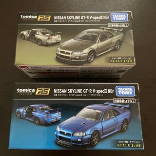 タカラトミー(Takara Tomy)の2個トミカプレミアムRS 日産 スカイライン GT-R VspecII Nur (ミニカー)