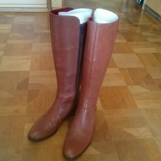 ユナイテッドアローズ(UNITED ARROWS)のオデッドブラウンロングブーツ(ブーツ)
