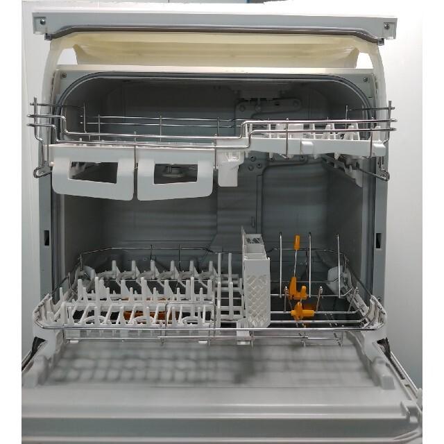 Panasonic(パナソニック)の食器洗い乾燥機 食洗機 パナソニック エコナビ ホワイト スマホ/家電/カメラの生活家電(食器洗い機/乾燥機)の商品写真