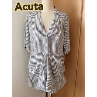 アクータ(Acuta)のacuta ストライプシャツ tp0004(シャツ/ブラウス(長袖/七分))