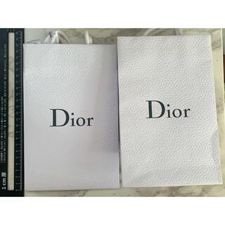 ディオール(Dior)の送料込✧︎Dior ディオール ショップ袋2枚セット✧︎リボン付き୨୧⋆*(ショップ袋)
