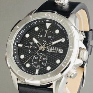 ヴェルサーチ(VERSACE)の【新品即納】ヴェルサス ヴェルサーチ メンズ腕時計 ライオンモチーフ クロノ(腕時計(アナログ))