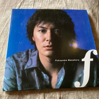 福山雅治f初回盤 CD(ポップス/ロック(邦楽))