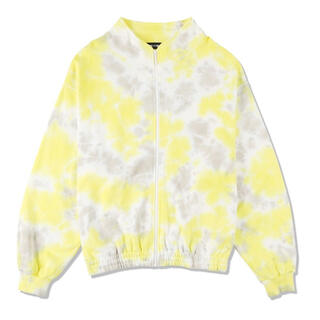 SEA - wind and sea(tie-dye) SWEAT BLOUSON