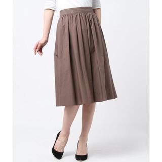 デミルクスビームス(Demi-Luxe BEAMS)の新品タグ付き Demi-Luxe BEAMS ギャザースカート(ひざ丈スカート)
