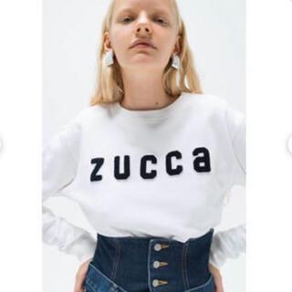 ズッカ(ZUCCa)の大人気 ZUCCa ズッカ ロゴ スウェット トレーナー トップス プルオーバー(トレーナー/スウェット)