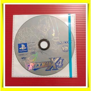 プレイステーション(PlayStation)のPS ロックマンX4(家庭用ゲームソフト)