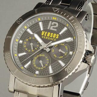 ヴェルサーチ(VERSACE)の【新品即納】ヴェルサス ヴェルサーチ 高級 メンズ腕時計 コインエッジベゼル(腕時計(アナログ))