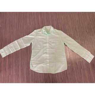ドゥドゥ(DouDou)のシャツ/ミントグリーン(シャツ/ブラウス(長袖/七分))
