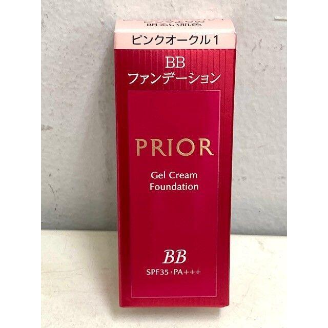 PRIOR(プリオール)のプリオール 美つやBBジェルクリーム n ファンデーション Pオークル1 コスメ/美容のベースメイク/化粧品(ファンデーション)の商品写真