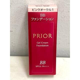 PRIOR - プリオール 美つやBBジェルクリーム n ファンデーション Pオークル1