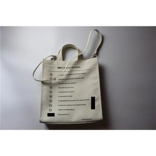 Maison Margiela MM6 ホワイト ハンドバッグ ショルダーバッグ