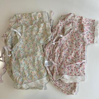ニシキベビー(Nishiki Baby)の新生児 肌着セット(肌着/下着)