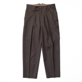 SUNSEA - stein 20AW  EX Wide Tapered Trousers