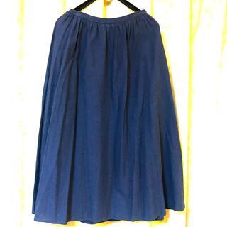 ムジルシリョウヒン(MUJI (無印良品))の無印良品ロングスカート(ロングスカート)