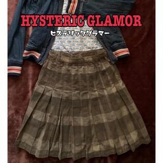 ヒステリックグラマー(HYSTERIC GLAMOUR)のHYSTERIC GLAMOR  ひざ丈スカート(ひざ丈スカート)