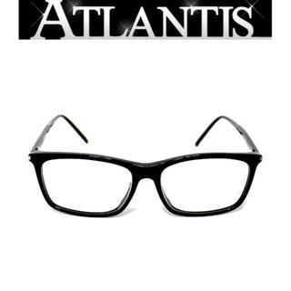 サンローラン(Saint Laurent)のサンローラン パリ メガネ 眼鏡 伊達 フレーム 黒 【50782】(サングラス/メガネ)