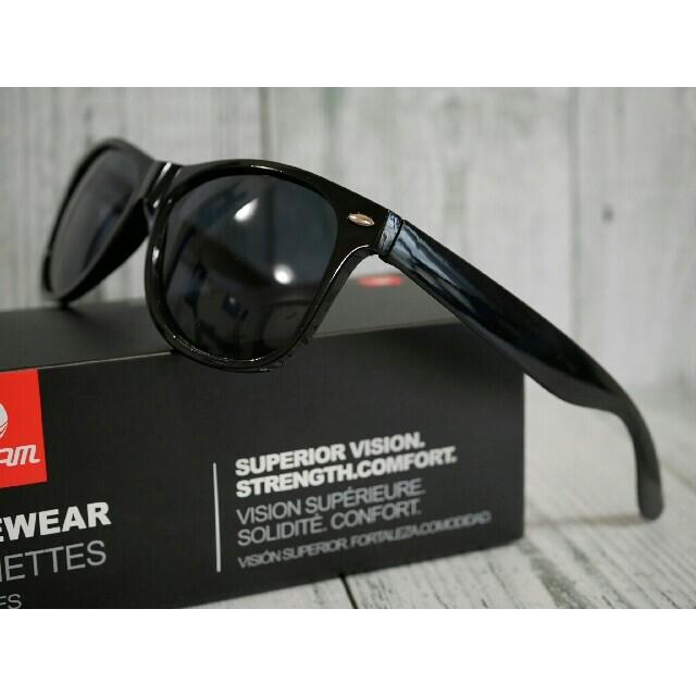 ☆シンプル☆ ファッションサングラス UV400 ブラック オークリータイプ ☆ メンズのファッション小物(サングラス/メガネ)の商品写真