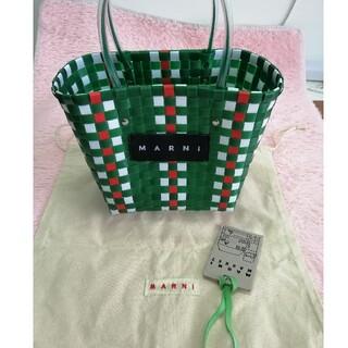Marni - 美品マルニ MARNI  ハンドバッグ ピクニックバッグ