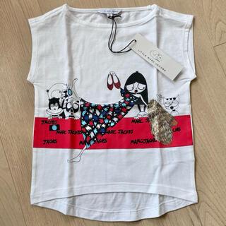 マークバイマークジェイコブス(MARC BY MARC JACOBS)の【新品】リトルマークジェイコブス トップス Tシャツ 3歳 95 ミスマーク(Tシャツ/カットソー)