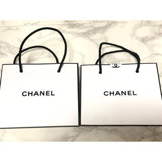 シャネル(CHANEL)の✧︎CHANEL✧︎ミニショップ袋 シャネル2枚セット送料込(ショップ袋)
