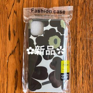 マリメッコ風 フラワー iPhone11 XR スマホケース ソフト   花柄(iPhoneケース)