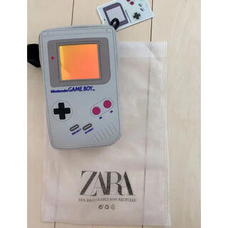 ザラ(ZARA)のZARA ザラ 任天堂クロスボディバッグ ゲームボーイ ショルダーバッグ(ショルダーバッグ)