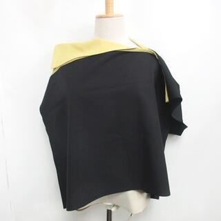 イッセイミヤケ(ISSEY MIYAKE)のイッセイミヤケ 132 5. 美品 IL11FJ322 変形シャツ 3 (シャツ/ブラウス(半袖/袖なし))