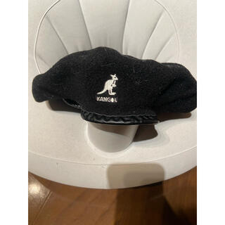KANGOL - KANGOL ハンチング ベレー帽 カンゴル カンゴール 帽子 黒 ベレー