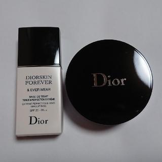 Christian Dior - 【中古】ディオール/ルースパウダー&下地セット
