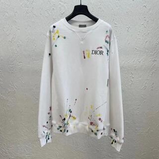 Dior - 【Dior】2021SS DIOR ペイント オーバーサイズ スウェットシャツ