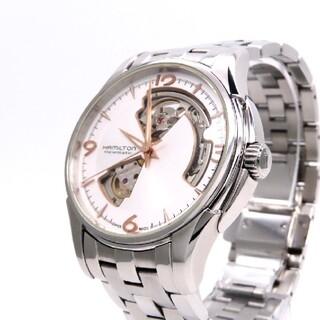 ハミルトン(Hamilton)の【HAMILTON】ハミルトン 時計 'オープンハート' ホワイト文字盤☆美品☆(腕時計(アナログ))