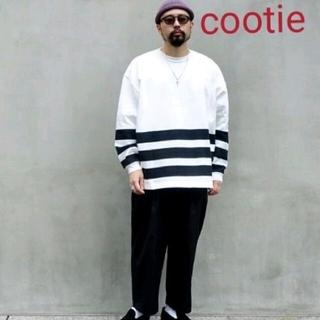クーティー(COOTIE)のCOOTIE  Heavy Cotton  Border  Tee(Tシャツ/カットソー(七分/長袖))