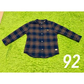ザラキッズ(ZARA KIDS)のザラベイビー チェックシャツ 92cm(ブラウス)