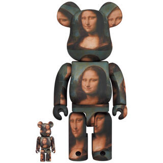 MEDICOM TOY - BE@RBRICK Mona Lisa 100%&400%