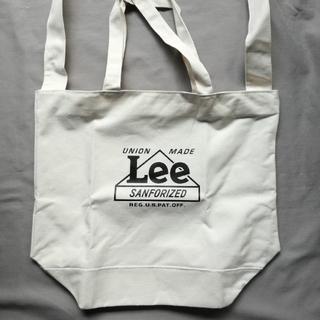 リー(Lee)のLee 超特大ショルダー付きトートmini 付録(ファッション)