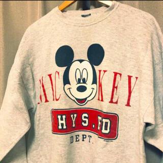 Disney - Disney☆ミッキーマウス 古着スウェット