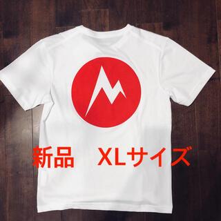 マーモット(MARMOT)のマーモット バックプリントtシャツ 正規品 XLサイズ 新品未使用タグ付(Tシャツ/カットソー(半袖/袖なし))