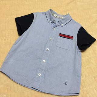 ファミリア(familiar)のmayumama様専用   ファミリア 半袖シャツ  110  (ブラウス)