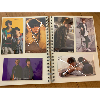 ジャニーズジュニア(ジャニーズJr.)のMyojo 2020年6月号 厚紙カード①(アート/エンタメ/ホビー)