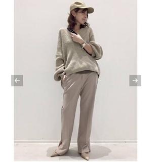 アパルトモンドゥーズィエムクラス(L'Appartement DEUXIEME CLASSE)のTwins Florence Denim V/N Oversize Knit(ニット/セーター)