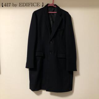 EDIFICE - メンズ チェスターコート【417 by EDIFICE 】