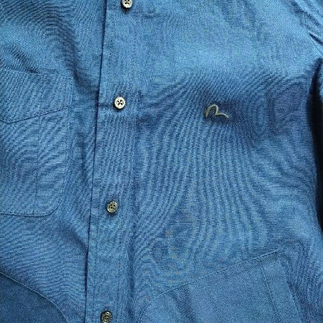 EVISU(エビス)のEVISU ボタンダウンシャツ 4サイズ 送料無料 メンズのトップス(シャツ)の商品写真