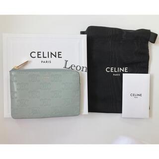 celine - CELINE セリーヌ コイン & カードポーチ トリオンフエンボスド ケース