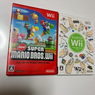Wii - 任天堂wiiNEWスーパーマリオブラザーズ