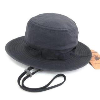 テンダーロイン(TENDERLOIN)のANDFAMILYS NYLON ANGLER HAT 日本製 ブラック M(ハット)