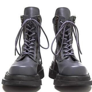ユリウス(JULIUS)のJULIUSユリウス レザーブーツ サイズ26.5cm(ブーツ)