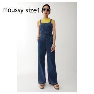 マウジー(moussy)のmoussy デニムサロペット(サロペット/オーバーオール)