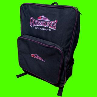 クイックシルバー(QUIKSILVER)の90s QUIK SILVER クイックシルバー バックパック リュック BAG(バッグパック/リュック)